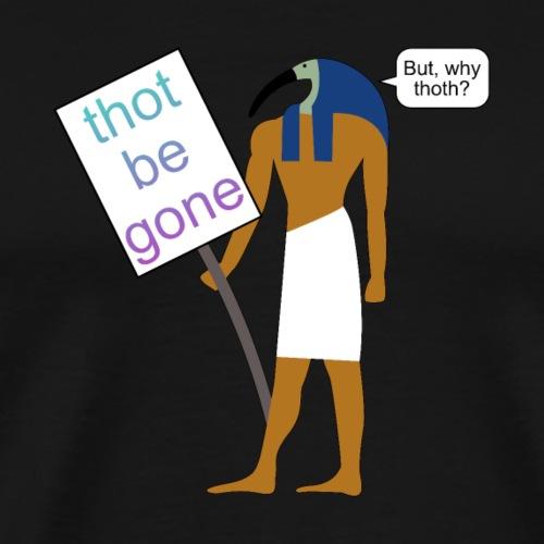Thoth bei einer Demo - Männer Premium T-Shirt