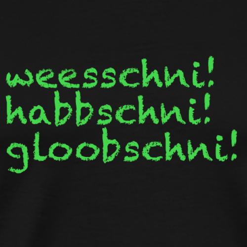 weesschni - Männer Premium T-Shirt