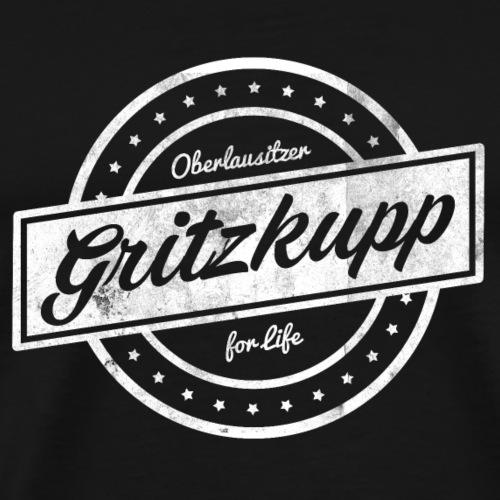 Gritzkupp - Ein Oberlausitzer Fanshirt - Männer Premium T-Shirt