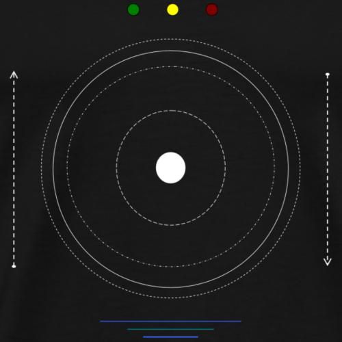 Logo moon #1 - T-shirt Premium Homme