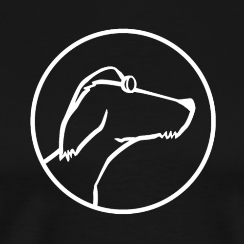 DOGGOD WEISS - Männer Premium T-Shirt