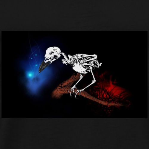 Crow - Premium T-skjorte for menn