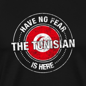 Har ingen frykt Tunisian Is Here - Premium T-skjorte for menn
