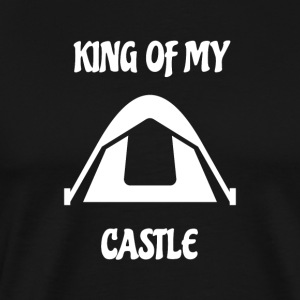 King of my tent Castle - Men's Premium T-Shirt