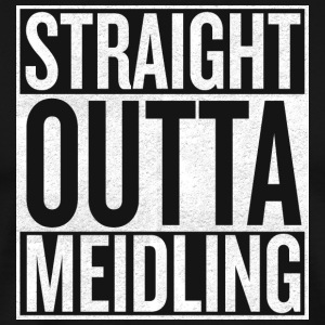 Straight Outta Meidling - Herre premium T-shirt