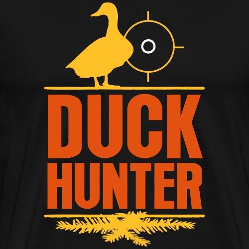 Jägershirt Enten Jäger Duck Hunter Wildenten Jagd - Männer Premium T-Shirt