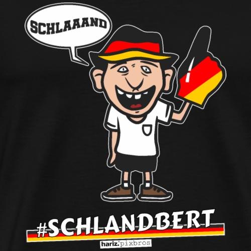 HARIZ.PIXBROS #Schlandbert - Männer Premium T-Shirt