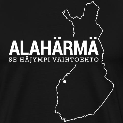 Kotiseutupaita - Alahärmä - Miesten premium t-paita