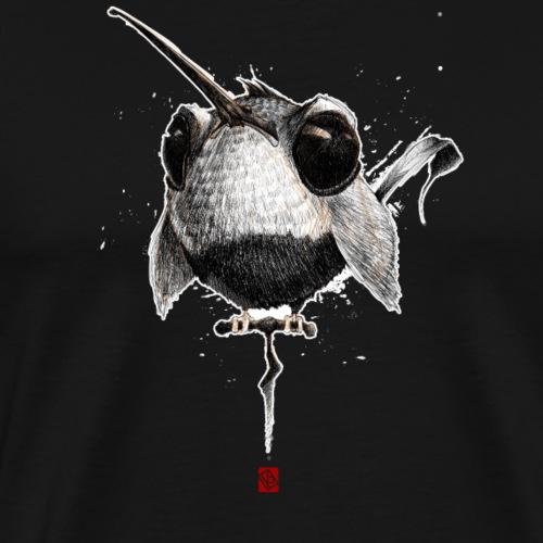 Sketchy Oiseau #02 - T-shirt Premium Homme