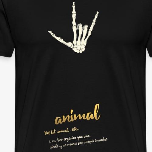 punk animal - Camiseta premium hombre