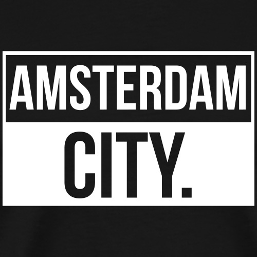 Amsterdam City - Männer Premium T-Shirt