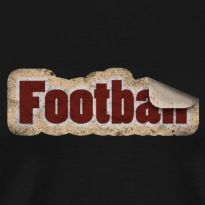 Football Stickers - Men's Premium T-Shirt