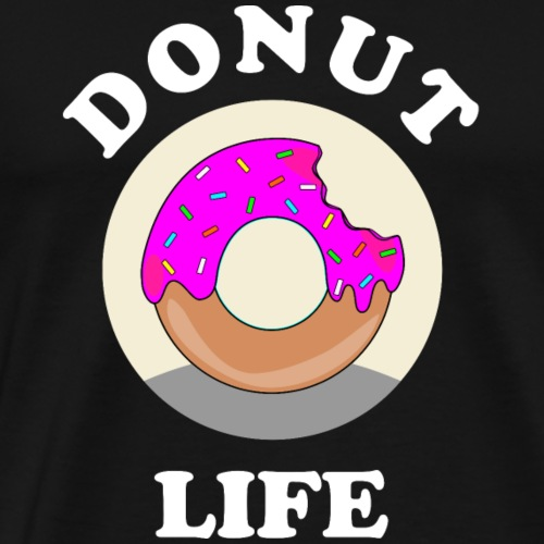 Donut Life Geschenk Idee - Männer Premium T-Shirt