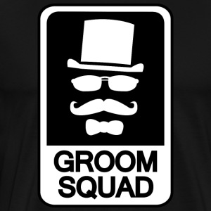 Groom Squad - Premium T-skjorte for menn