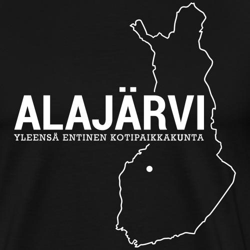 Kotiseutupaita - Alajärvi - Miesten premium t-paita