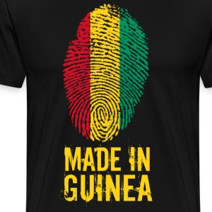 Made In Guinea / La Guinée - Premium T-skjorte for menn