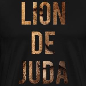 Lion de Juda - T-shirt Premium Homme