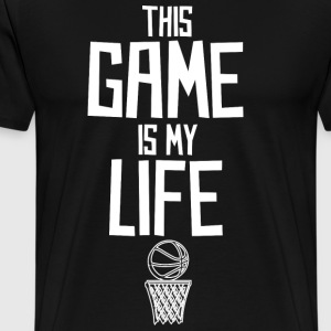 Basketball! BBall! Streetball! NBA! Court - Men's Premium T-Shirt