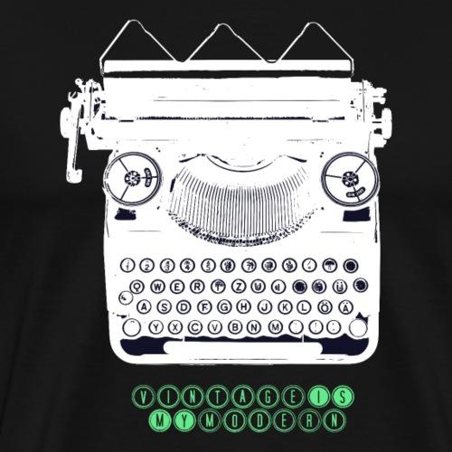 TYPEWRITER_2 - Männer Premium T-Shirt