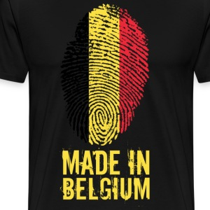 Made In Belgia / Belgia / Belgique / België - Premium T-skjorte for menn