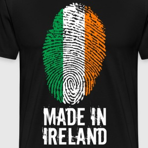 Made In Irland / Irland / Éire - Premium-T-shirt herr