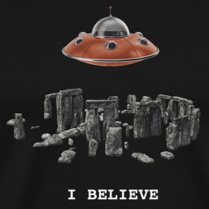 ibelieve - Premium T-skjorte for menn