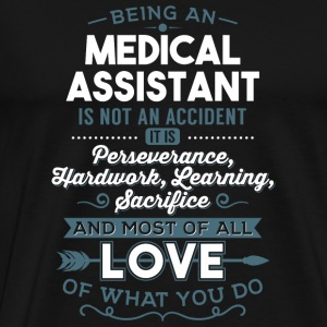 Love what you do - Medical Assistant - Men's Premium T-Shirt