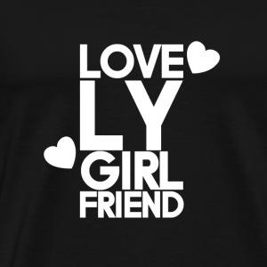Lovely GF - Premium T-skjorte for menn
