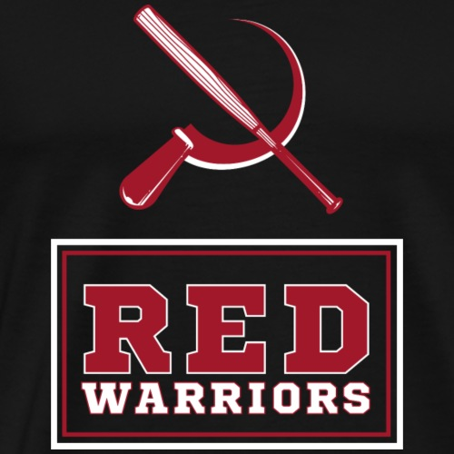 Red Warriors Logo2 - T-shirt Premium Homme