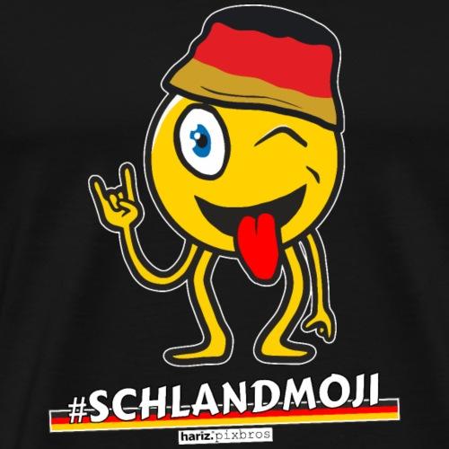 HARIZ.PIXBROS #Schlandmoji - Männer Premium T-Shirt