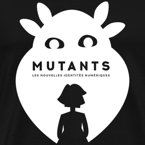 Mutant F blanc - T-shirt Premium Homme