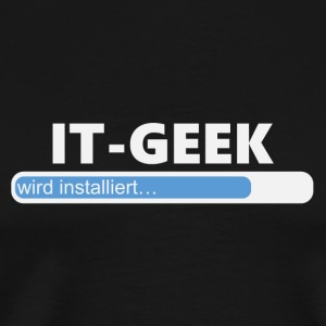Installiere IT Geek (1032) - Männer Premium T-Shirt