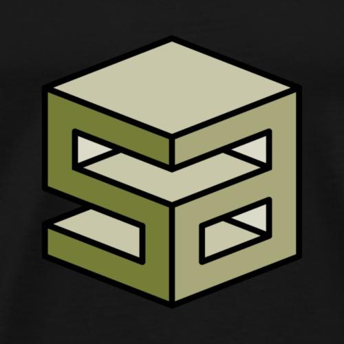sirart Logo green - Männer Premium T-Shirt