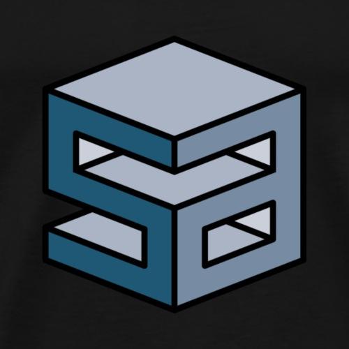 sirart Logo blue - Männer Premium T-Shirt
