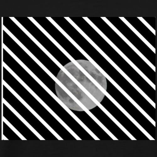 The moon - Camiseta premium hombre