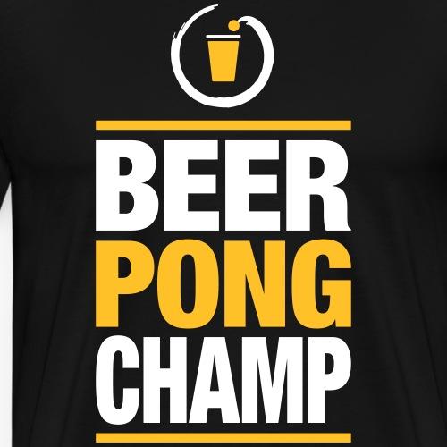 Beer Pong Champ - Männer Premium T-Shirt