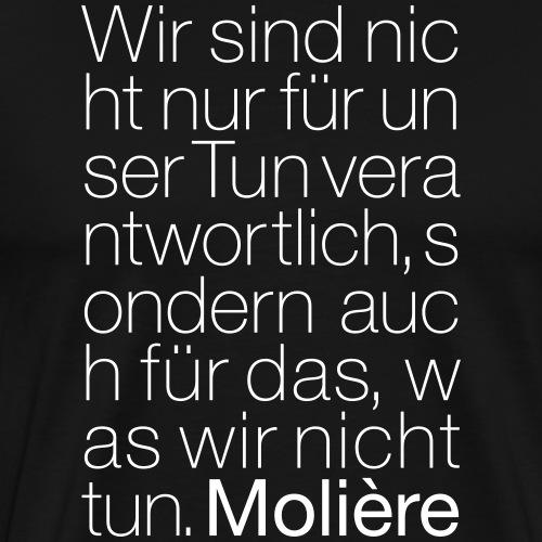 Molière - Männer Premium T-Shirt