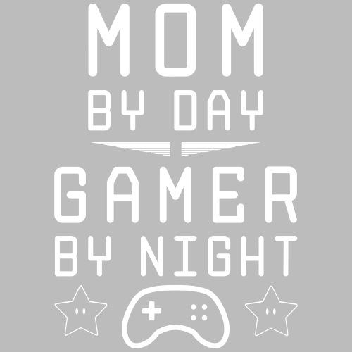 mom by day gamer by night - Männer Premium T-Shirt