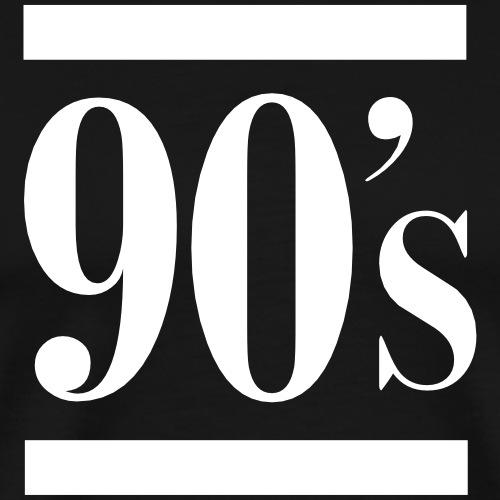 90s - Männer Premium T-Shirt