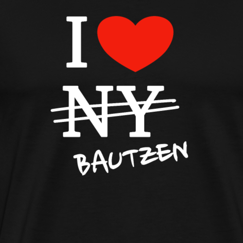 I love Bautzen - Männer Premium T-Shirt