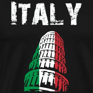 Nation-Design Italy 02 - Herre premium T-shirt