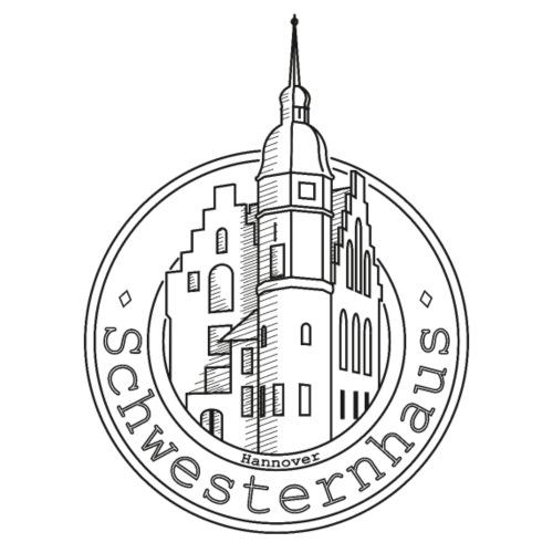 Schwesternhaus Logo Schwarz Transparent - Männer Premium T-Shirt