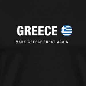 Husband Greece Great Again - Men's Premium T-Shirt