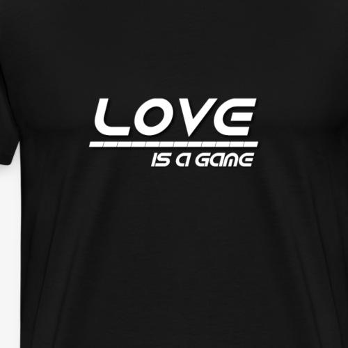 Love (weiss) - Männer Premium T-Shirt