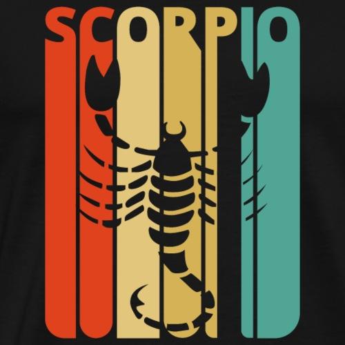 Vintage Zodiac Scorpio Gifts for Family & Friends. - Men's Premium T-Shirt