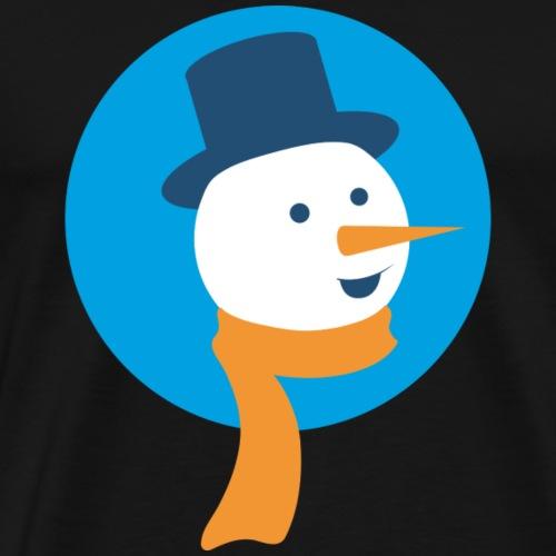 Schneemann - Männer Premium T-Shirt