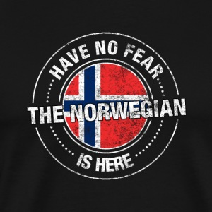 Have No Fear Is Here Norweski Koszula - Koszulka męska Premium