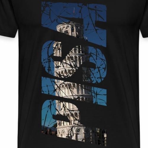 Pisa Tower Italy - Men's Premium T-Shirt