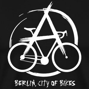 Bike Anarchy - Premium-T-shirt herr