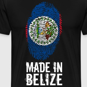 Made In Belize - Premium-T-shirt herr